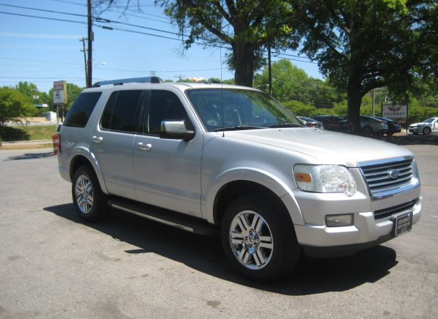 2010 Ford Explorer Limited (Silver) full