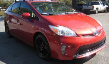 2012 Toyota Prius Four Burgundy full