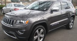 2015 Jeep Grand Cherokee Limited 4×4 SUV (Charcoal)
