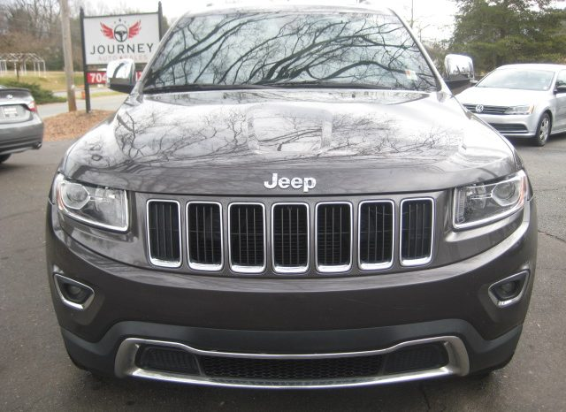 2015 Jeep Grand Cherokee Limited 4×4 SUV (Charcoal) full