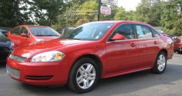 2012 Chevrolet Impala LT 4 Door Sedan